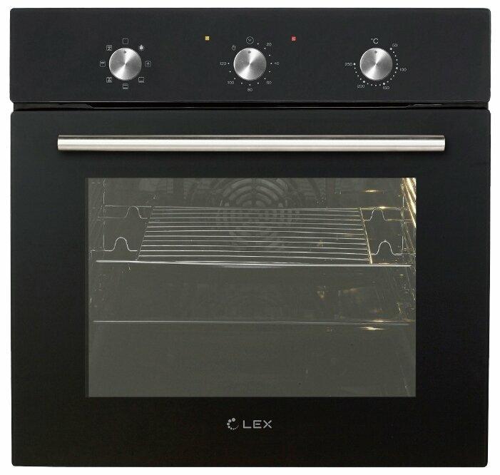 Духовой шкаф LEX EDM 070 BL черный