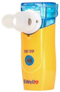 Ингалятор B.Well WN-114 child электронно-сетчатый (меш) портативный желтый