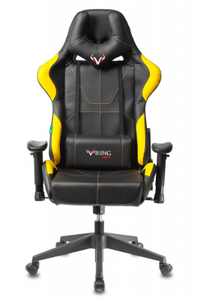 Кресло игровое Zombie VIKING 5 AERO желтый