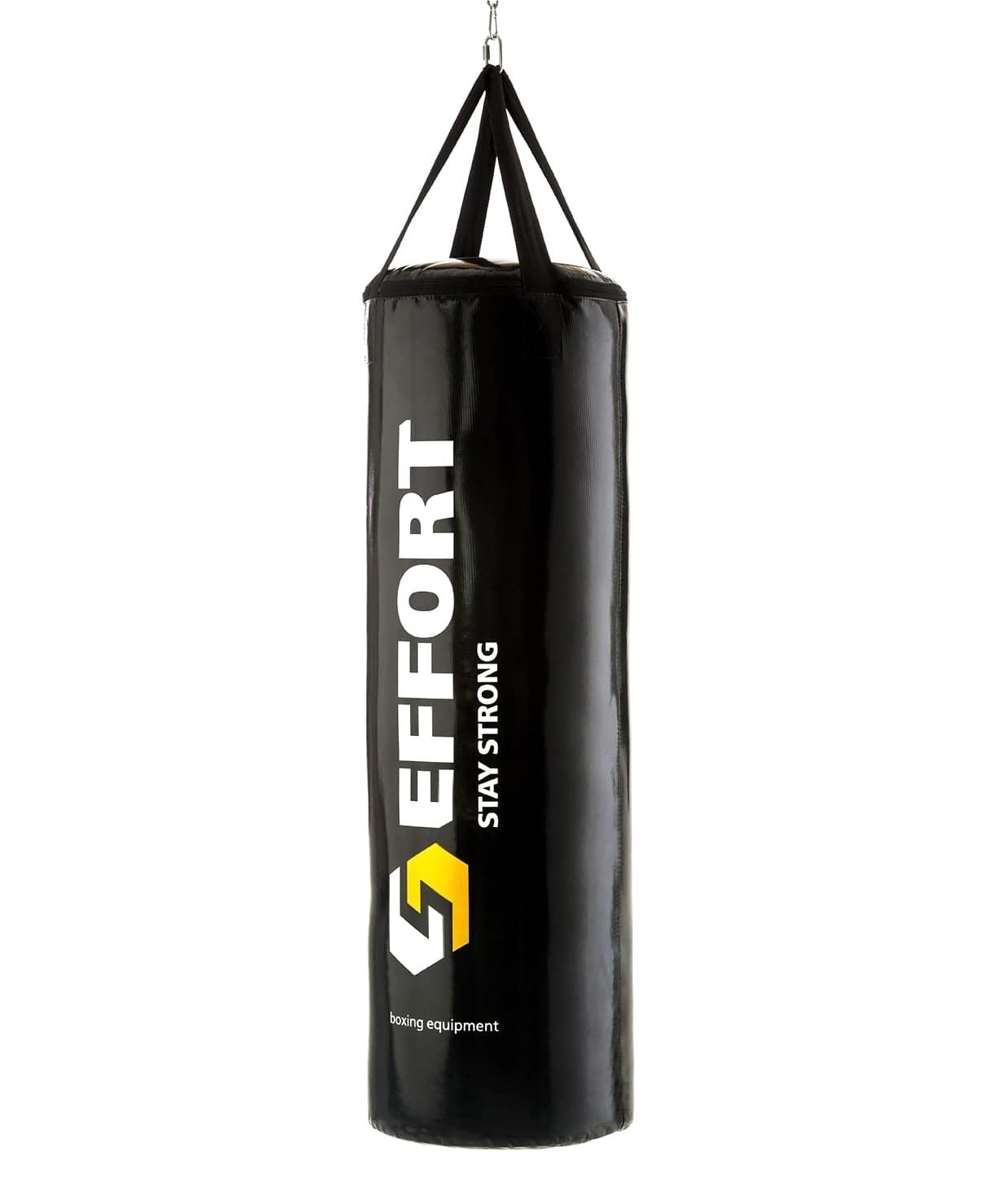 Мешок боксерский E155, тент, 15 кг, черный