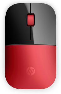 Мышь беспроводная HP Z3700 красный