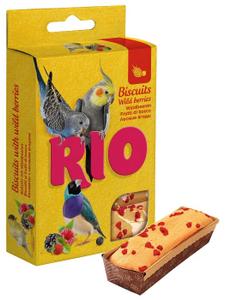 """RIO / Лакомство для птиц """"Бисквит"""" с лесными ягодами"""
