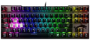 Клавиатура проводная MSI VIGOR GK70 CR черный
