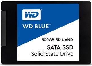 Накопитель SSD Western Digital Blue [WDS500G2B0A] 500 ГБ
