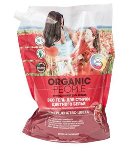 Гель для стирки цветного белья ЭКО дой-пак 2000мл Organic People