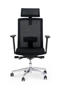 Кресло офисное Norden Партнер aluminium черный