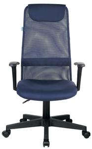 Кресло офисное Бюрократ KB-8 синий