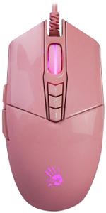 Мышь проводная A4Tech Bloody P91s розовый