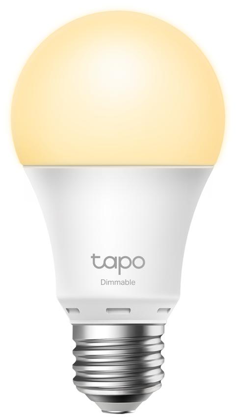 TP-Link Tapo L510E WiFi Bulb, A60 size, E27, 8.7W, 2700K warm white, 800 lumens