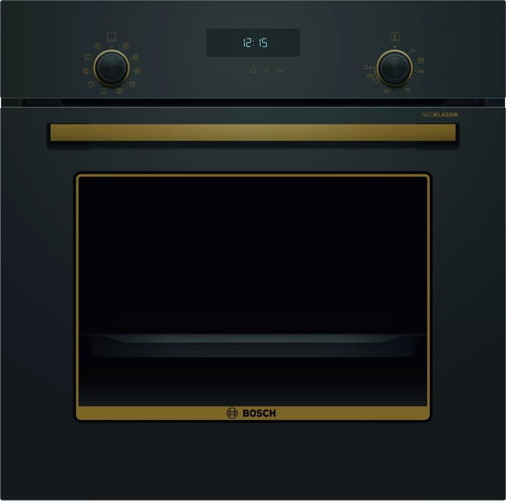 Духовой шкаф Bosch HBJN17EB0R черный