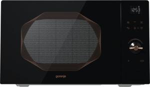 Микроволновая печь Gorenje MO25INB черный