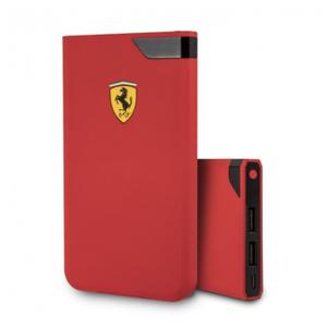 Портативное ЗУ Ferrari Rubber 10000 mAh красный