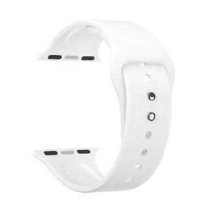 Силиконовый ремешок для Apple Watch 38/40 mm LYAMBDA ALTAIR DS-APS08-40-WT White