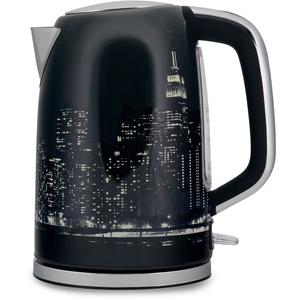 Чайник электрический Polaris PWK 1762CA City черный