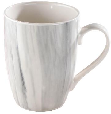 Кружка Доляна «Эбру», 350 мл, цвет серый