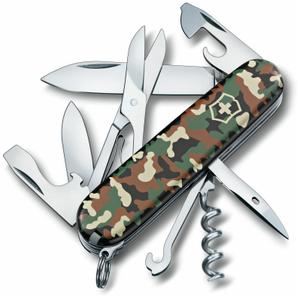 Нож перочинный Victorinox Climber (1.3703.94) 91мм 14функций камуфляж карт.коробка