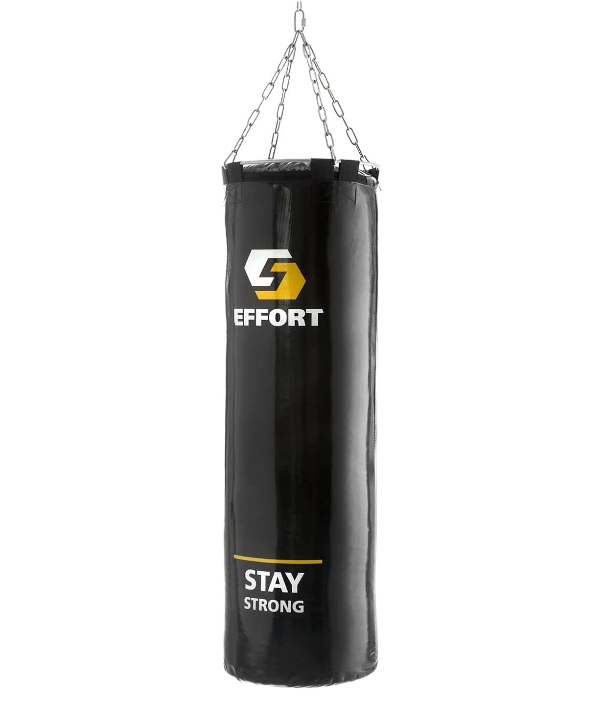 Мешок боксерский E255, тент, 45 кг, черный