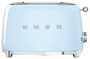 Тостер SMEG TSF01PBEU голубой