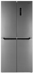 Холодильник Weissgauff WCD 337 NFX серебристый