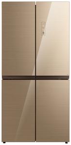 Холодильник Korting KNFM 81787 GB золотой