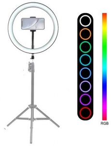 LED Лампа MJ-33 Colorful, 33cm + штатив