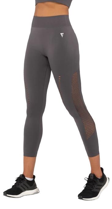 Женские тайтсы Essential Knit dark grey FA-WH-0202-DGR, темно-серый