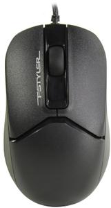 Мышь проводная A4Tech Fstyler FG12 черный