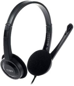 Наушники с микрофоном CBR CHP 313M черный