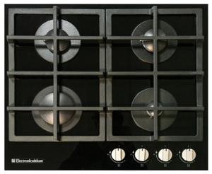 Газовая варочная панель Electronicsdeluxe GG4_750229F-012 черный