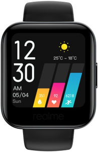 """Смарт-часы Realme Watch 35мм 1.4"""" MIP черный"""