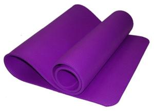 Коврик для йоги и фитнеса. Цвет:  фиолетовый: PURPLE К6010