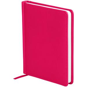 """Ежедневник недатированный, A6, 136л., кожзам, OfficeSpace """"Winner"""", ярко-розовый"""