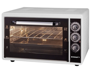 Мини-печь Kraft KF-MO 3800 W белый