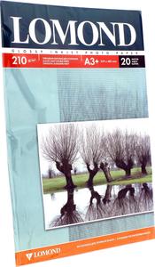 LOMOND 0102027 (A3+, 20 листов, 210 г / м2) бумага глянцевая / матовая двусторонняя
