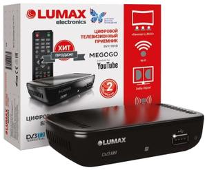 Цифровой телевизионный приемник DVB-T2 Lumax DV1110HD