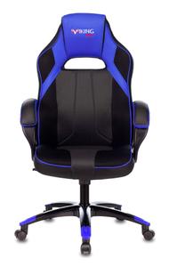 Кресло игровое Бюрократ Zombie VIKING 2 AERO синий