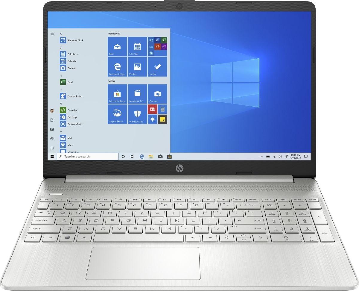 Ноутбук HP 15s-eq2025ur (3B2X3EA) серебристый