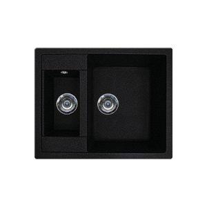 Мойка кухонная Gran-Stone GS-21 (308 черный)