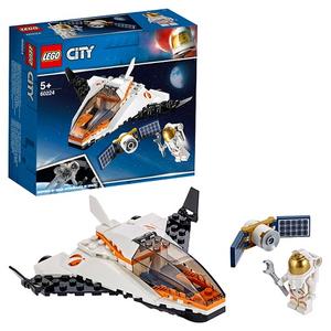 Конструктор lego city миссия по ремонту спутника 60224