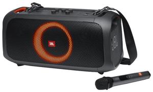Портативная аудиосистема JBL Partybox On-The-Go [JBLPARTYBOXGOBRU] черный