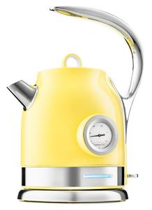 Чайник электрический Kitfort КТ-694-3 желтый