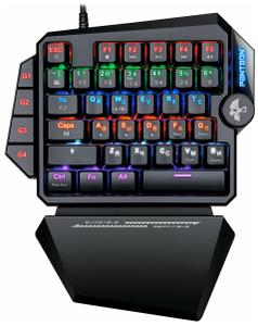 Клавиатура проводная JETACCESS PANTEON T7 черный