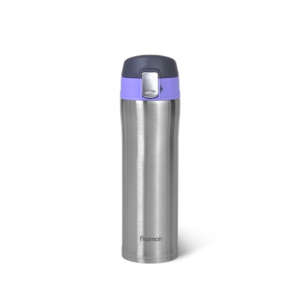 Термокружка Fissman 420 мл фиолетовый