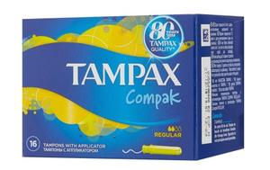 Тампоны женские гигиенические с аппликатором Regular 16шт TAMPAX