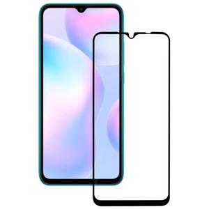 Защитное стекло Ainy (0,33мм) Xiaomi Redmi 9C Full Glue Cover (2.5D) черное OEM
