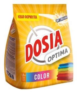 Стиральный порошок Колор 1,2кг Dosia