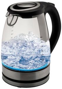 Чайник электрический Scarlett SC-EK27G21 серебристый
