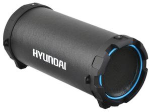 Портативная колонка Hyundai H-PAC220 черный/голубой
