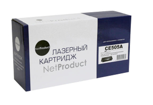 Картридж NetProduct NEW CE505A