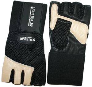 """Перчатки для занятий тяжёлой атлетики """"SPRINTER"""". Размер L. 16248"""